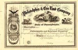 Philadelphia & Erie Land Company - Pennsylvania 186_