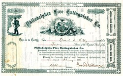 Philadelphia Fire Extinguisher Co. - Pennsylvania 1871