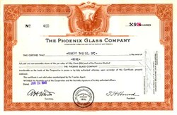 Phoenix Glass Company  ( Now Anchor Hocking  )