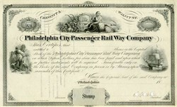 Philadelphia City Passanger Rail Way Company