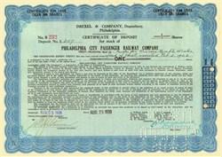 Philadelphia City Passenger Railway Company