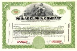 Philadelphia Company - Pennsylvania