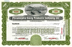 Philadelphia Dairy Products Company, Inc. (Early McKesson Company)