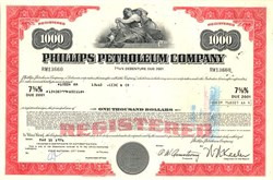 Phillips Petroleum Oil Company 1970's (Pre Conoco Merger)