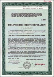 Philip Morris Credit Corporation