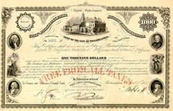 City of Philadelphia Loan - Early Tax Free Bond 1887