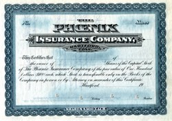 Phoenix Insurance Company - Hartford, Connecticut