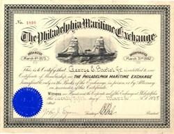 Philadelphia Maritime Exchange - Pennsylvania 1935