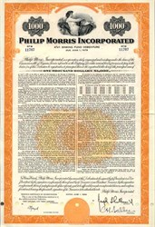 Philip Morris, Incorporated ( Now Altria Group, Inc.) - Virginia 1959