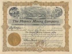 Phoenix Mining Company - Wallace, Idaho 1908