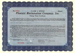Phoenix Reclamation Company, Inc.