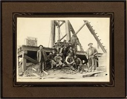 Old Original Mining Photograph