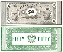 Phoney Mazuma Movie Money - Ellis Mercantile
