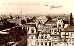Photo Postcard Paris Panorama