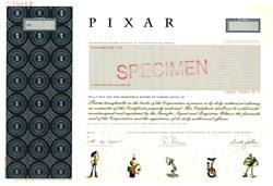 Pixar Animation Studios (Rare Specimen)  with Steve Jobs as Chairman - 2005
