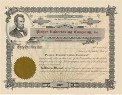 Picher Undertaking Company, Inc. 1920's