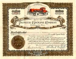Pioneer Gasoline Company - Minnesota 1927