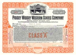 Piggly Wiggly Store - 1926