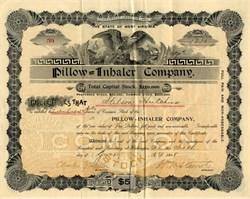 Pillow Inhaler Company - 1898