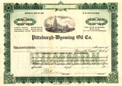 Pittsburgh - Wyoming Oil Co. - Delaware 1919