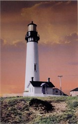 Pigeon Point Lighthouse Postcard, California