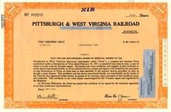Pittsburgh & West Virginia Railroad