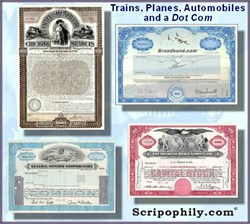 Planes, Trains, Automobiles and a Dot Com - 4 Certificate Package