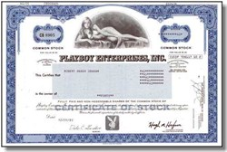 Playboy Enterprises, Inc. (Nude Willy Rey in vignette )