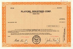 Playgirl Industries Corporation - Nevada