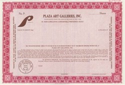 Plaza Art Galleries, Inc.