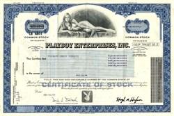 Playboy Enterprises, Inc. with Hugh M. Hefner as Chairman  (Famous Willy Rey Nude Vignette)  - Delaware 1982