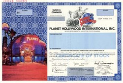 Planet Hollywood International, Inc. 1998  ( Arnold Schwarzenegger ) - Delaware