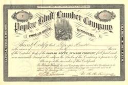 Poplar Bluff Lumber Company - Missouri 1895