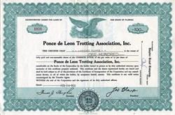 Ponce de Leon Trotting Association, Inc. - Florida 1959