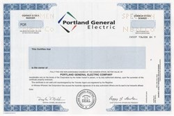 Portland General Electric - Oregon