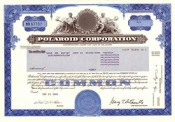 Polaroid Corporation (Polaroid Corporation was the worldwide leader in instant photography before digital cameras) - 2002