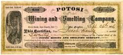 Potosi Mining and Smelting Company - Cerro Gordo, Inyo County, California - 1876