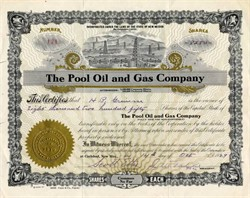 Pool Oil and Gas Company - New Mexico 1929