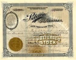 Potomac Oil Company - Territory of Arizona 1902
