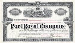 Port Royal Company - Georgia 1893