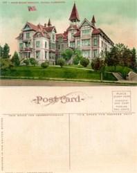 Postcard from the Annie Wright Seminary Tacoma, Washington 1910