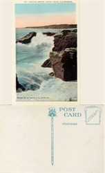 Postcard from Beach Drive, Santa Cruz, California