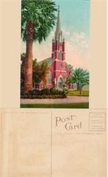 Postcard from a Catholic Church, Stockton, California