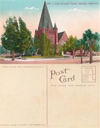 Postcard from Christ Episcopal Church, Alameda, California