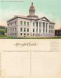 Postcard from the Court House, Martinez, California