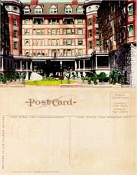 Postcard from the Portland Hotel, Portland, Oregon