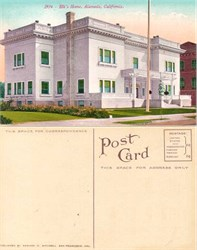 Postcard from Elk's Home, Alameda, California
