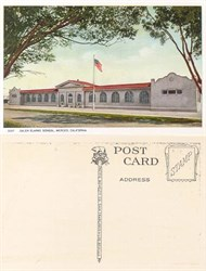 Postcard from the Galen Clark School, Merced, California