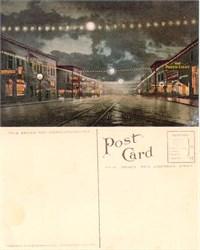 Postcard from Hewitt Avenue Everett, Washington