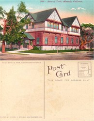 Postcard from the Home of Truth, Alameda, California